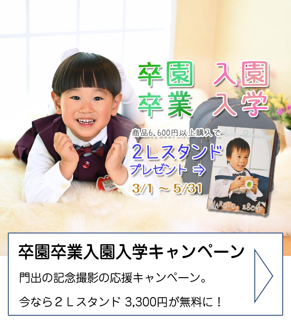 卒園卒業&入学入園キャンペーン